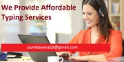 Low cost Typing Services