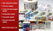 ProLabels- Manufacturer of Embossed labels Rajasthan | Gujrat | Jaipur
