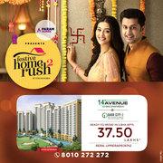 Festive Home Rush  | Gaur City 14th Avenue Buy 1/2 BHK apartments