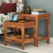 Enjoy Discount Upto 55% on Solid Wood Nest of Tables in Noida
