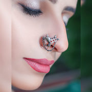 Agni Tantra Ring | Pure Silver Jewellery in Lucknow India | Silverwith