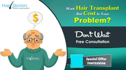 Hair Transplant In Lucknow @34, 999