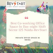 Comfortable budget coworking office space for rent in Noida