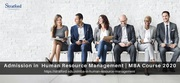 Admission in Human Resource Management | Mba Hrm