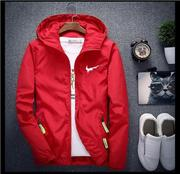 New Men's Casual Hooded Bomber Jacket