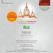 Plot Sale in Vrindavan I Call: +91-9625343241 I Vrindavan Plot Sale