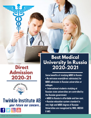 Study MBBS Abroad In Russia 2020-21Twinkle InstituteAB