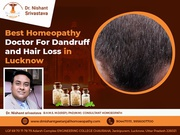 Best Homeopathy Doctor For Dandruff and Hair Loss In Lucknow