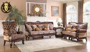 Buy Beautiful Charusheela Antique Style Ottoman Sofa Set